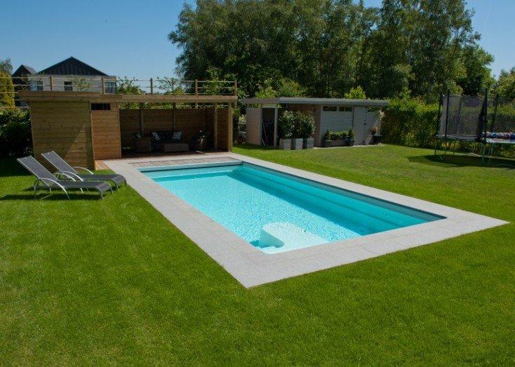Great een zwembad aanleggen is makkelijk with opbouw for Zwembad plaatsen in tuin